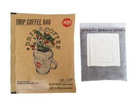 Ultrasonic drip coffee packaging machine