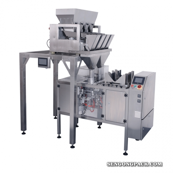 Stand Up Resealable Pouch Packing Machine