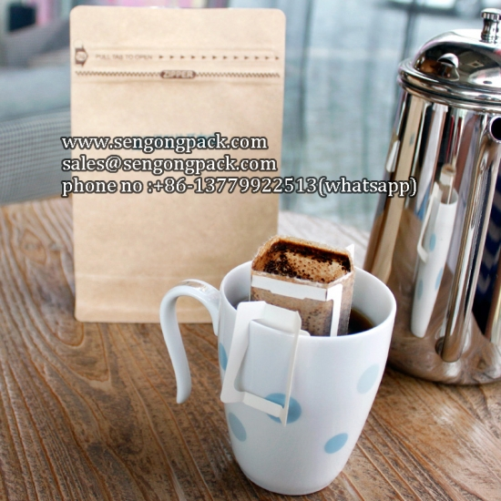 Vietnam Drip Coffee Packaging Machine with Outer Envelope