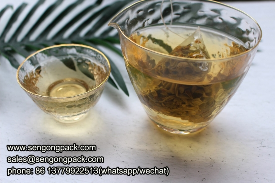 triangle triangle Ginseng Tea bag packaging machine