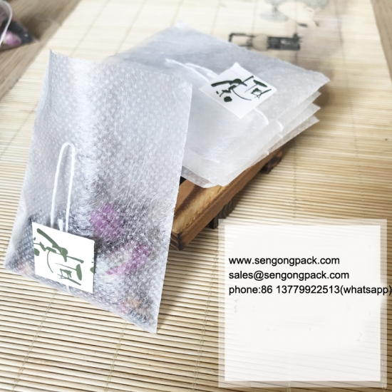 Flat Nylon/Non-woven fabric, Tea Bag Packing