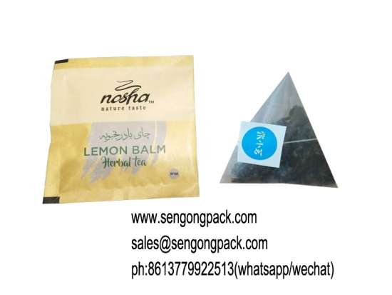 Nylon tea packing