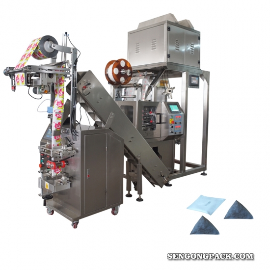 Common Yarrow tea bag packing machine,used Thyme Antiseptic  tea bag packing machine,pyramid tea bag packing machine