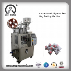 nylon tea bag packaging machine
