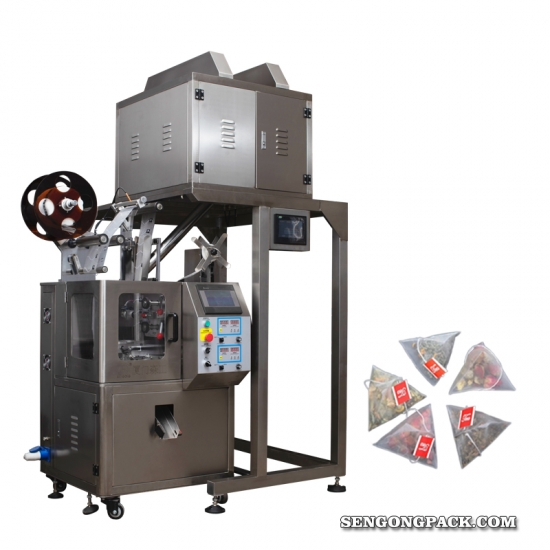 Automatic Pyramids Tea Bag Packing Machine