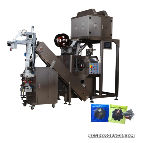 Nylon tea bag filling machine