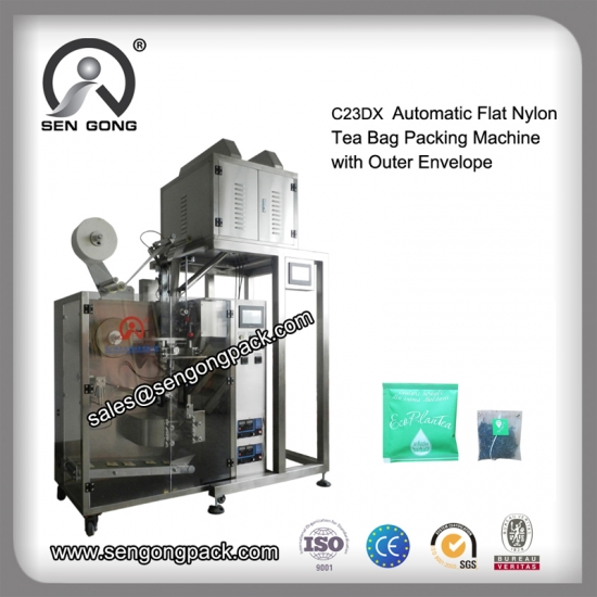 Flat Nylon tea  filling machine