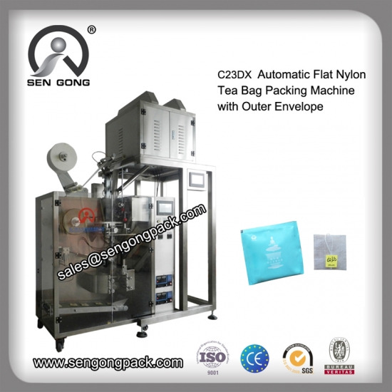 Flat Nylon tea packaging machine