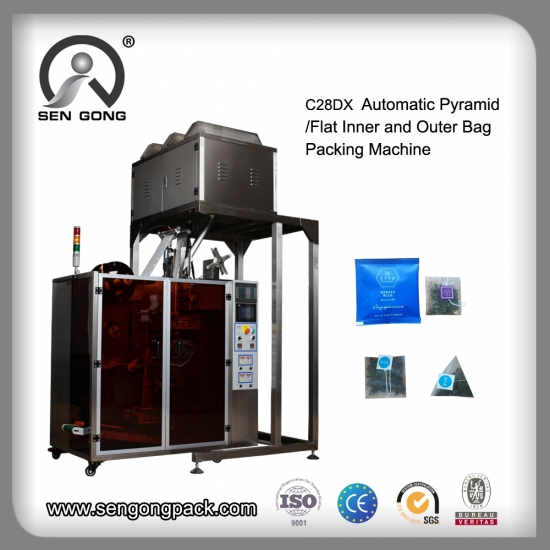 nylon pyramid tea bag machine