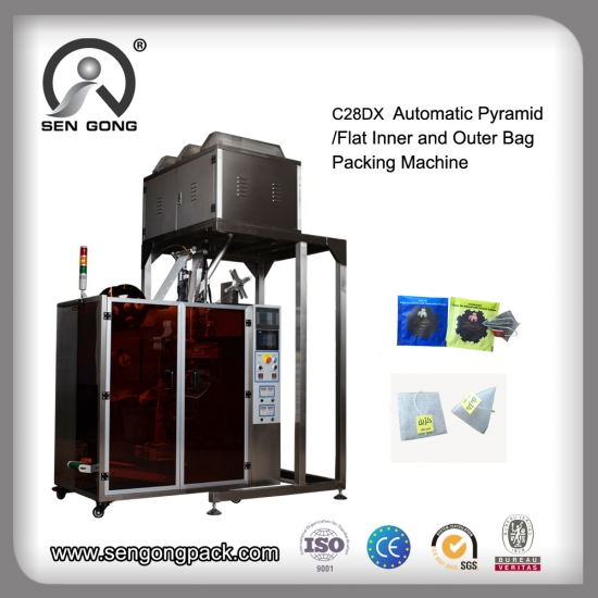 PLA tea bag packing machine