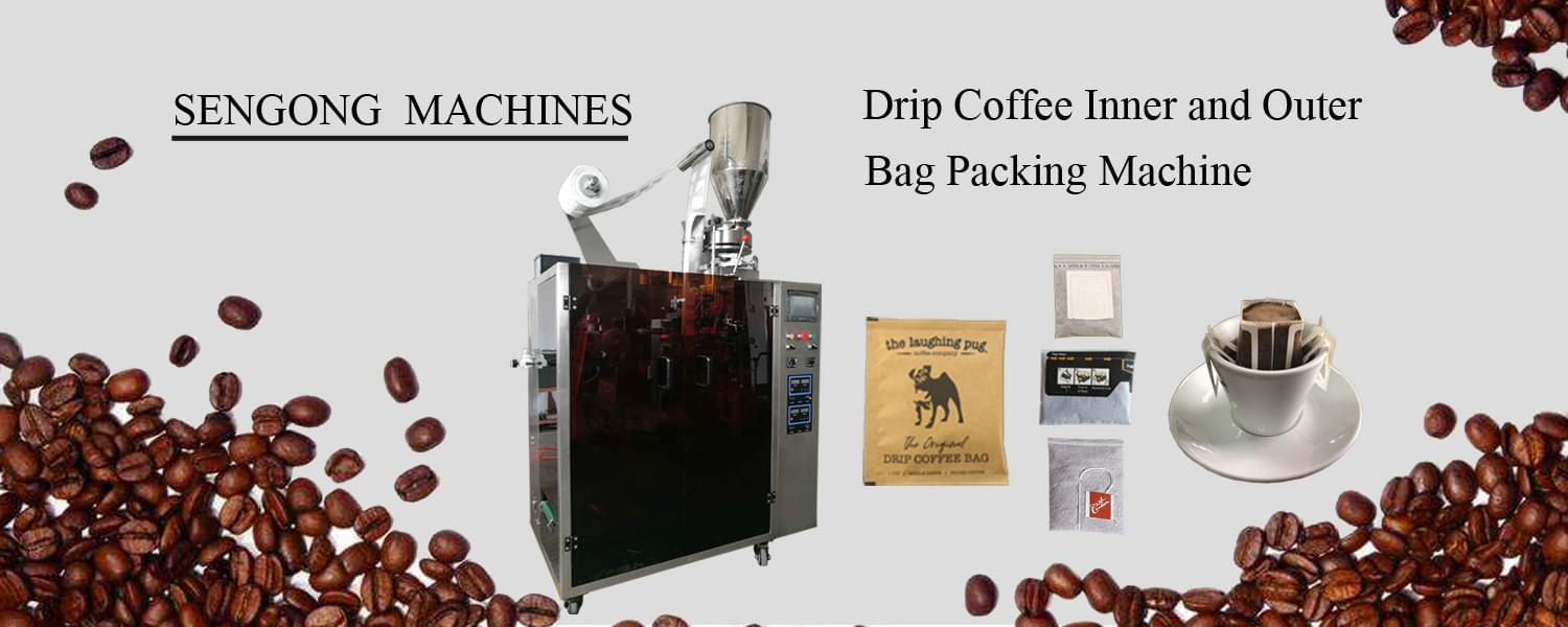 Drip Coffee Bag Packaging Machine