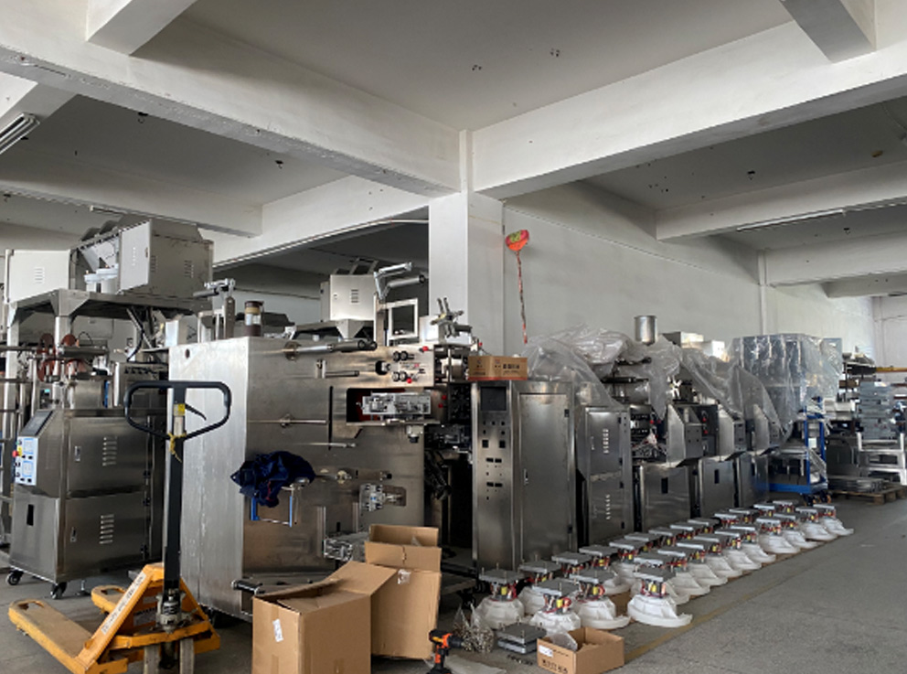 Factory-Drip Coffee Packing Workshop