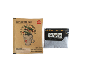 Ultrasonic drip coffee inner and outer  bag packing